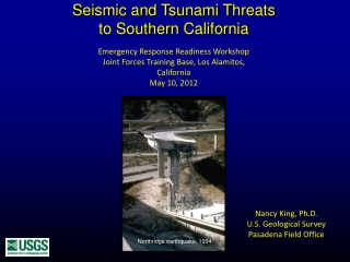 Seismic and Tsunami Threats to Southern California
