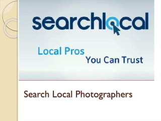 Search Local Photographers