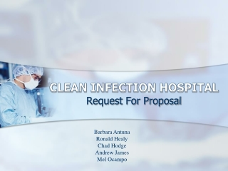 CLEAN INFECTION HOSPITAL
