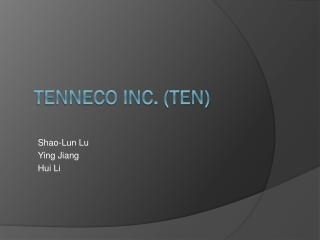 Tenneco Inc. (TEN)