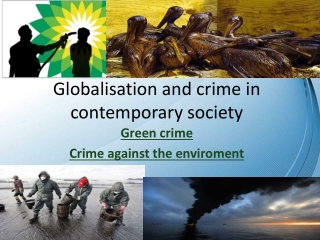 Globalisation and crime in contemporary society