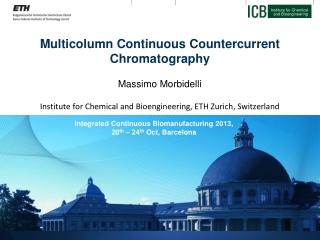 Multicolumn  Continuous Countercurrent  Chromatography