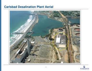Carlsbad Desalination Plant Aerial