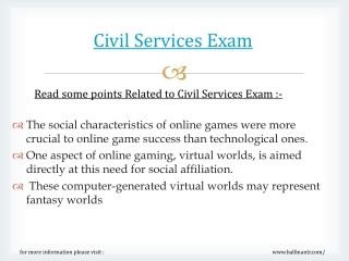 New syllabus for Civil Services Exam has changed recently