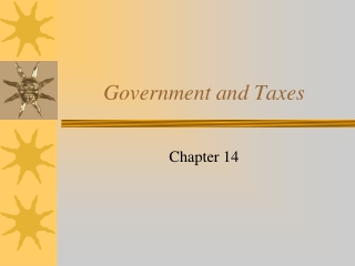 Government and Taxes