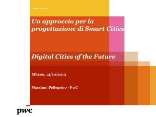 Un approccio per la progettazione di Smart  Cities