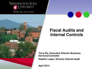 Fiscal Audits and Internal Controls