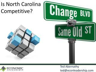 Ted Abernathy     ted@econleadership.com