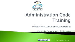 Administration Code Training