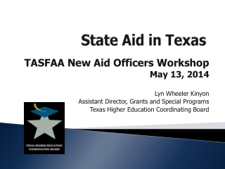 State Aid in Texas