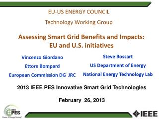 EU-US ENERGY COUNCIL Technology Working Group