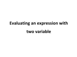 3.2 simplifying algebraic expressions