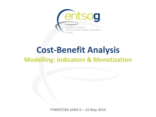 Cost-Benefit Analysis Modelling: indicators & Monetization