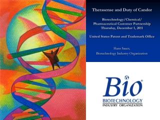 Hans Sauer, Biotechnology Industry Organization