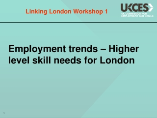Linking London Workshop 1
