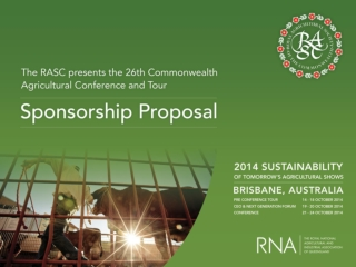 Introducing the Royal Agricultural Society of the Commonwealth (RASC)
