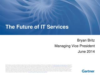 The Future of IT Services