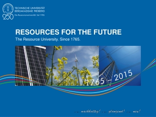 RESOURCES FOR THE FUTURE