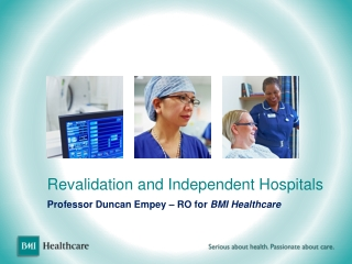 Revalidation and Independent Hospitals