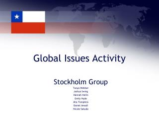 Global Issues Activity