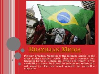 Brazilian News In Usa