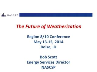 The Future of Weatherization