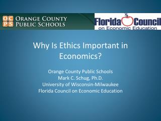 Why Is Ethics Important in  Economics?