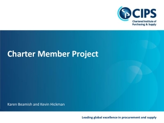 Charter Member Project