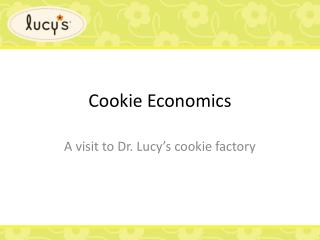 Cookie Economics
