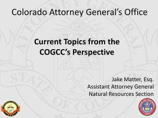 Colorado Attorney General�s Office