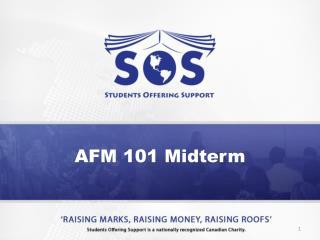 AFM 101 Midterm