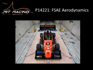 P14221: FSAE Aerodynamics