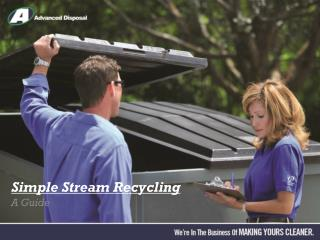 Simple Stream Recycling
