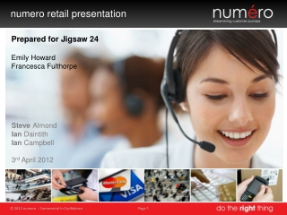 n umero retail presentation