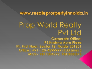 Industrial Property in Noida| Industrial Plots, Land in Noid