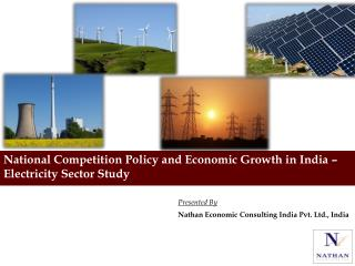 National Competition Policy and Economic Growth in India � Electricity Sector Study