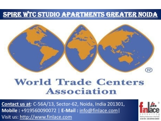 Spire WTC Noida Launch Studio Apartment Greater Noida