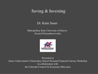 Saving & Investing