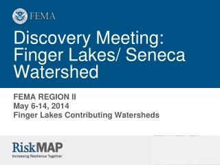 Discovery Meeting:  Finger Lakes/ Seneca Watershed
