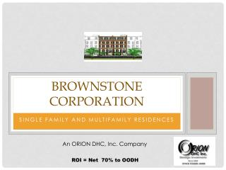 Brownstone corporation