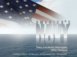 Navy Localized  Messages NRD Portland