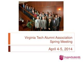 Virginia Tech Alumni Association Spring Meeting