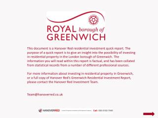 Greenwich's Residential Growth