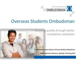 Overseas Students Ombudsman