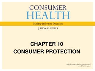 CHAPTER 10 CONSUMER PROTECTION