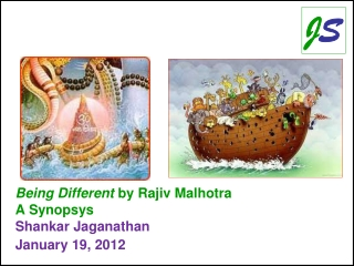 Being Different  by Rajiv Malhotra  A Synopsys Shankar Jaganathan January 19, 2012