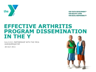 Effective  arthritis program dissemination in the Y