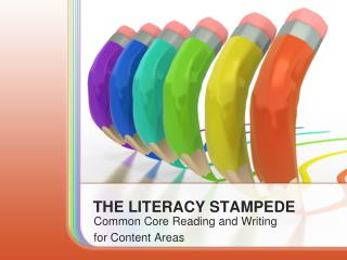 THE LITERACY STAMPEDE