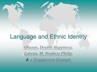 language and ethnic identity