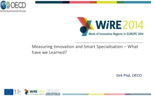 Measuring Innovation and Smart Specialisation – What have we Learned?
